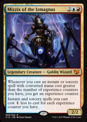 Commander 2015 - Seize Control - generál Mizzix of the Izmagnus