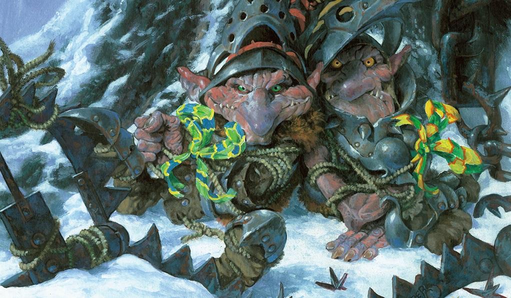 Ilustrace z Magicové karty Evil Presents