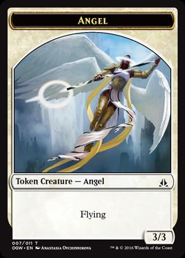 Token Angel z Oath of the Gatewatch