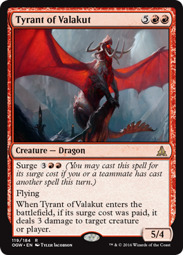 Tyrant of Valakut