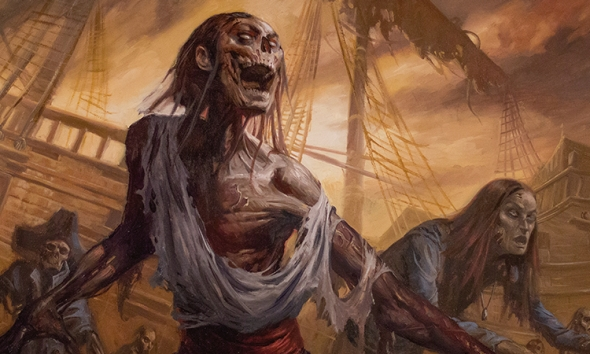 Říjnové FNM promo Rise from the Tides - art
