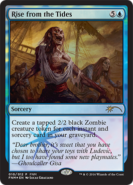 Říjnové FNM promo Rise from the Tides