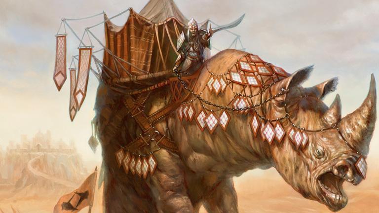 Obrázek z Magicové karty Siege Rhino