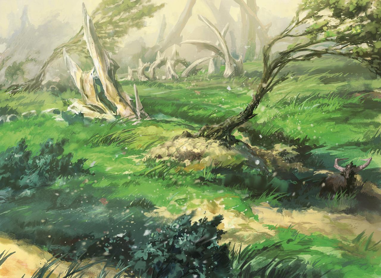 Obrázek z Magicové karty Windswept Heath