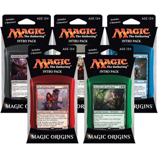 Set všech Intro Packů z edice Magic Origins
