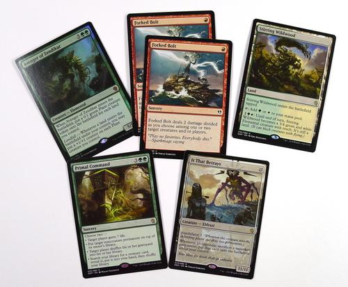 Vybrané hodnotné karty z Duel Decku Zendikar vs. Eldrazi