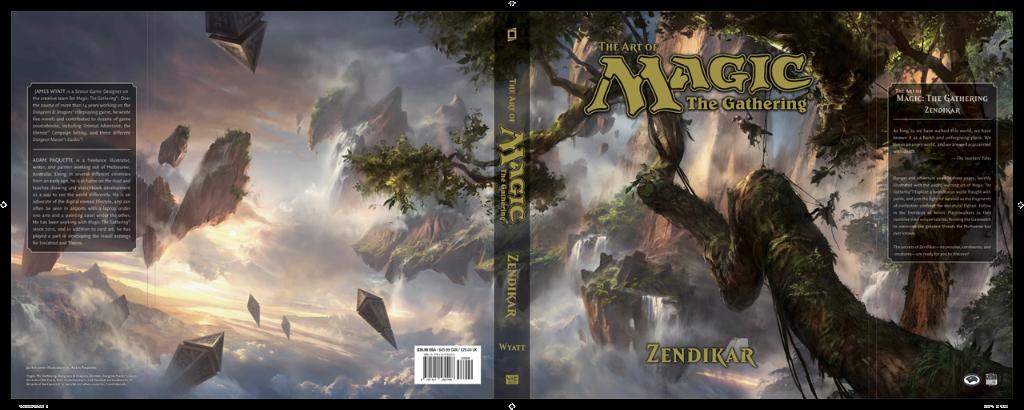 Kniha The Art of Magic: the Gathering: Zendikar