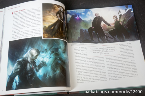 Pohled na knihu The Art of Magic: the Gathering: Zendikar 3