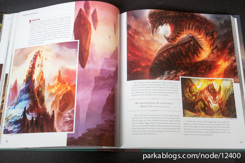 Pohled na knihu The Art of Magic: the Gathering: Zendikar 6
