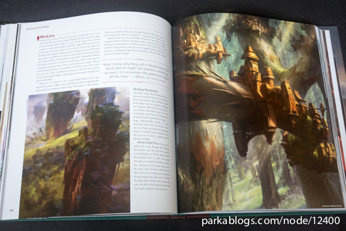 Pohled na knihu The Art of Magic: the Gathering: Zendikar 7