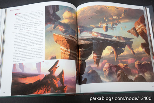 Pohled na knihu The Art of Magic: the Gathering: Zendikar 8