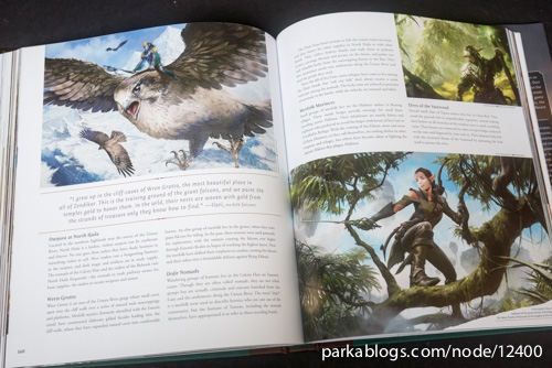 Pohled na knihu The Art of Magic: the Gathering: Zendikar 9