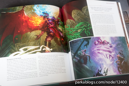 Pohled na knihu The Art of Magic: the Gathering: Zendikar 11