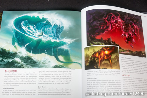 Pohled na knihu The Art of Magic: the Gathering: Zendikar 13