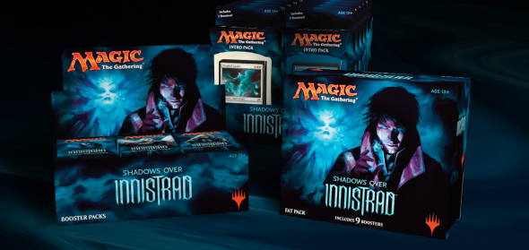 Produkty ze Shadows over Innistrad