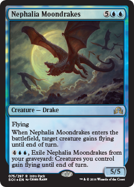 Promo karta z Intro Packu - Nephalia Moondrakes
