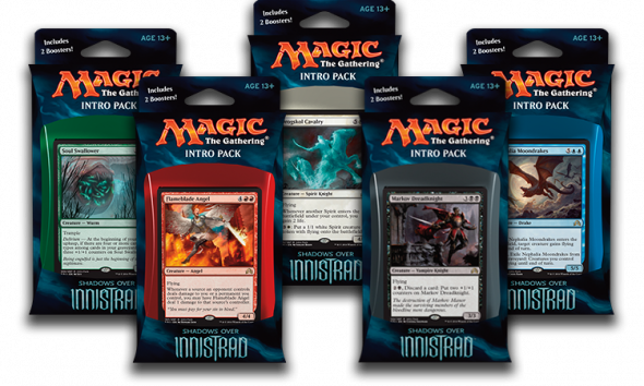 Intro Packy ze Shadows over Innistrad