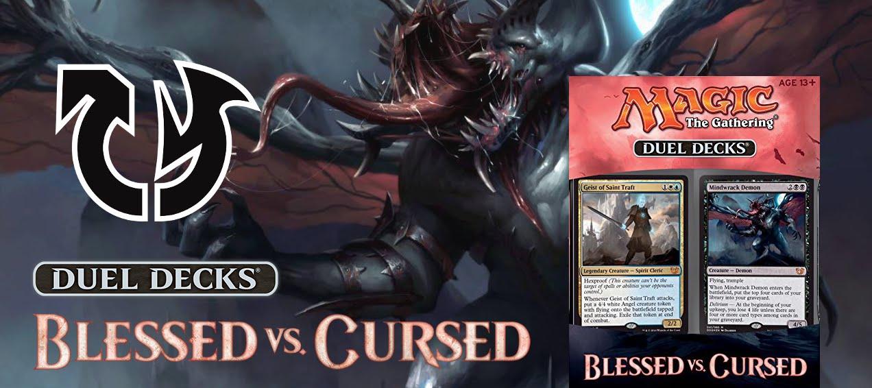 Recenze Blessed vs. Cursed Duel Decks
