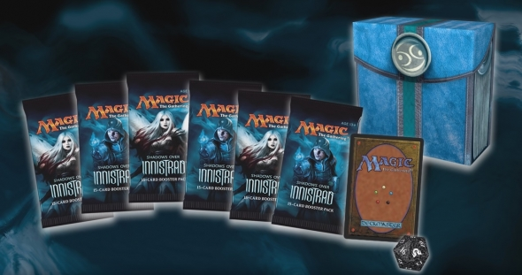 Obsah prerelease packu ze Shadows over Innistrad