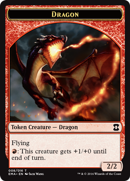 Eternal Masters token - Dragon