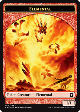 Eternal Masters token - Elemental 1