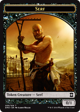 Eternal Masters token - Serf