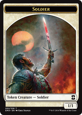 Eternal Masters token - Soldier