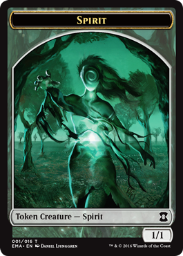 Eternal Masters token - Spirit 1