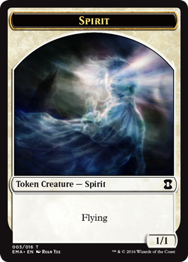 Eternal Masters token - Spirit 2