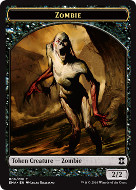 Eternal Masters token - Zombie