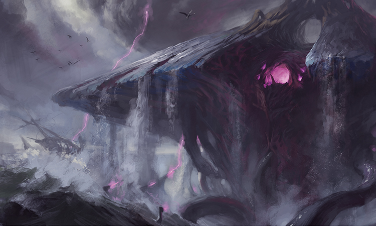 Emrakul rises