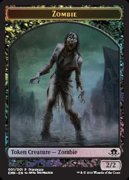 Eldritch Moon - prerelease pack - zombie token 2
