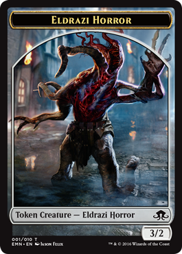 Eldritch Moon token - Eldrazi Horror