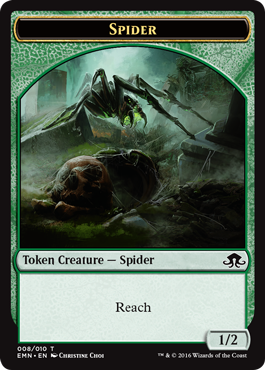 Eldritch Moon token - Spider