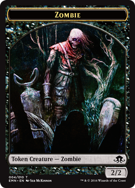 Eldritch Moon token - Zombie 2