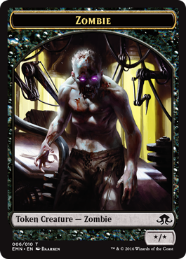 Eldritch Moon token - Zombie 4