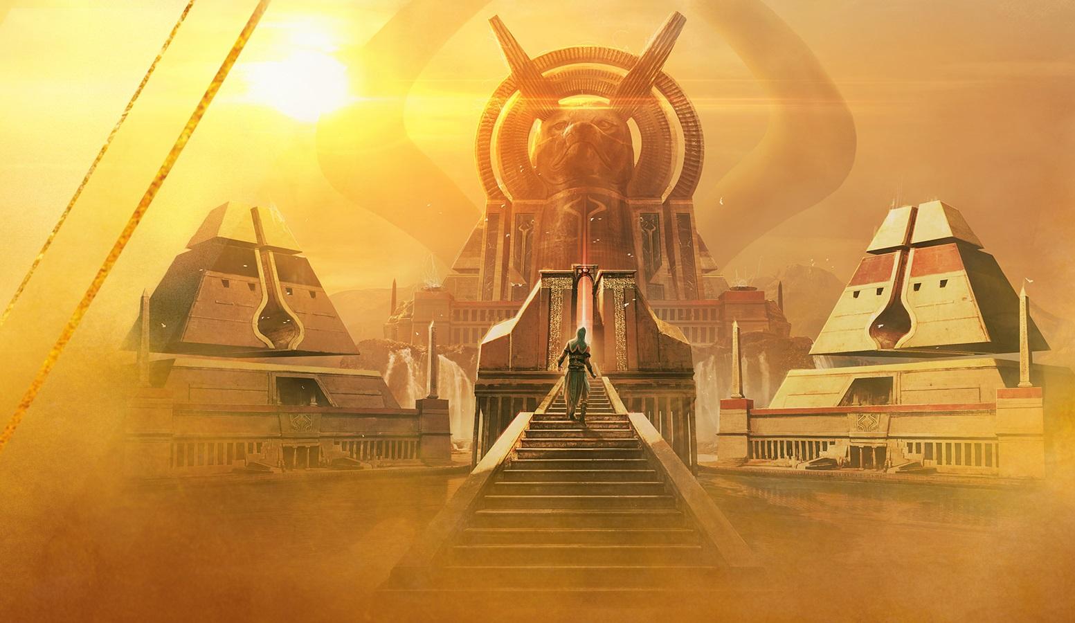 Ilustrace z nového Magicového světa Amokhet