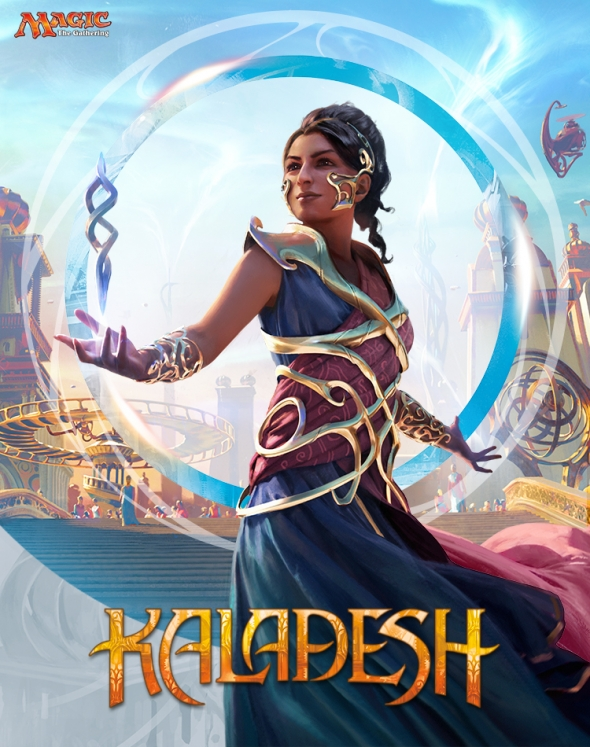 Poster k nové edici Magic: the Gathering - Kaladesh