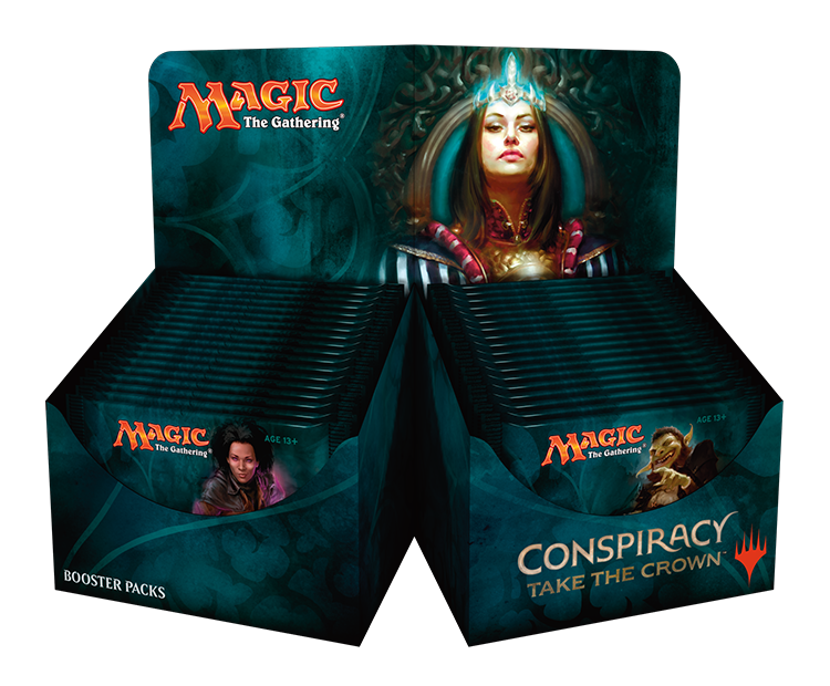 Conspiracy: Take the Crown - Booster Box