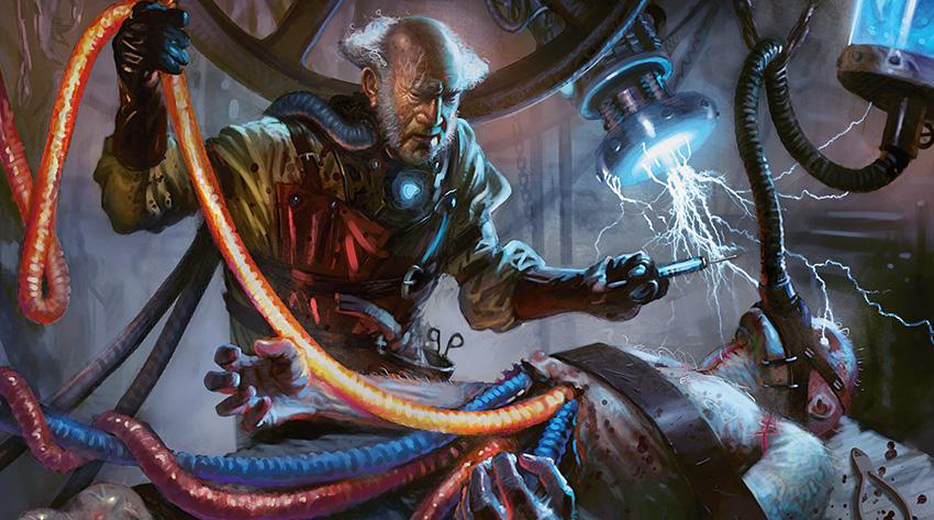 Obrázek z Magicové karty Ludevic, Necro-Alchemist