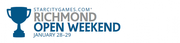 Starcitygames Open Weekend Richmond January 2017