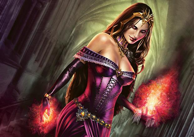 Obrázek z Magicové karty Liliana of the Veil