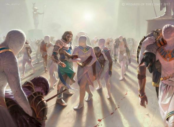 Obrázek z Magicové karty Anointed Procession