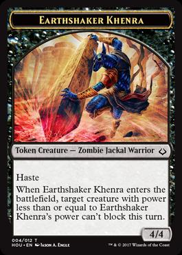Earthshaker Khenra token