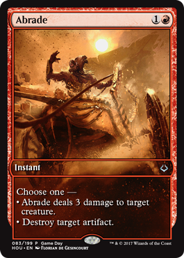 Hour of Devastation Game Day promo Abrade