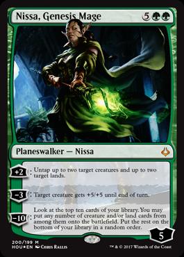 Planeswalkeři z Planeswalkers decků - Nissa Genesis Mage
