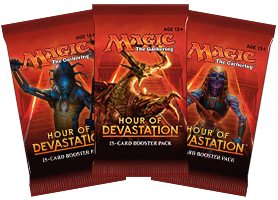 Hour of Devastation Boosters