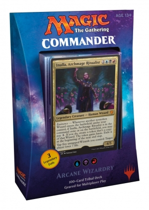 Magic the Gathering Commander 2017 - Arcane Wizardry