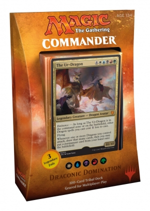 Magic the Gathering Commander 2017 - Draconic Domination