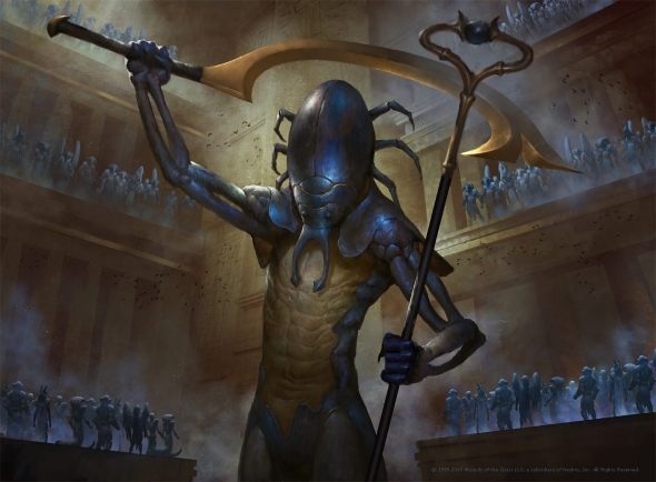 The Scarab God Art